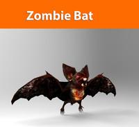 3d model zombie bat
