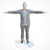 business costume outfit male fbx