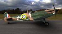 supermarine spitfire squadron 3d model