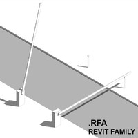 max parking arm barrier revit