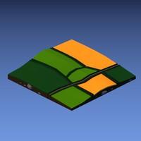 3d fields model