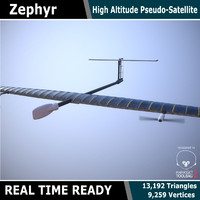 3d model zephyr uav