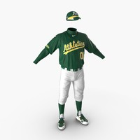 max baseball player outfit athletics