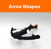 arrow-weapon haigh ready 3d model