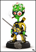 3d kung fu alien