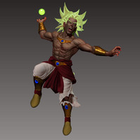 Broly Warrior