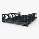 pedestrian bridge 3D models
