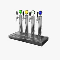 3d beer tap 2 model