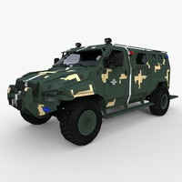 3d military kraz spartan