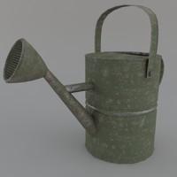 3d model wateringcan