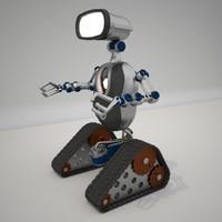 3d lamp robot