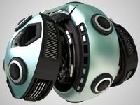 eye droid 2 3d max