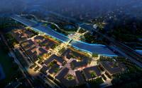 3d model cityscape scene