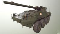 Stryker 1128 MGS