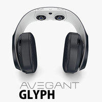 3d avegant vr headphone model
