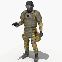 3d model crye multicam uniform