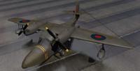 plane grumman gosling mk-1 3d 3ds