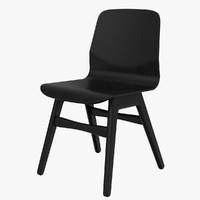 3d model london chair boconcept