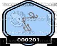 3d 000201 badge alquran verse