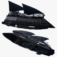 3d max jabba sail barge