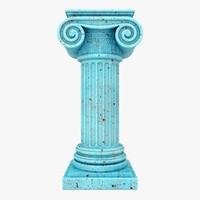 column 04 blue fbx