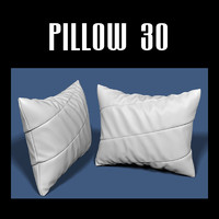 3d model of pillow interior