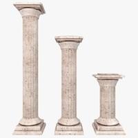 column 02 3 sizes 3ds