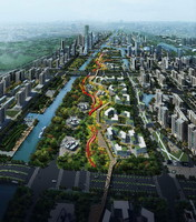ma cityscape architectures road