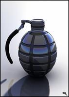 grenade 3d fbx