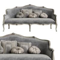 3d model sofa savio firmino 3187