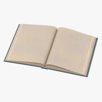 classic book 04 open 3d max
