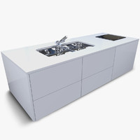 3d kitchen furniture model
