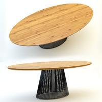 3d model table loft spider