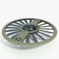 f30 - nazi flying saucer 3d model