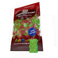 gummy bears bag 3d model