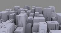 max sci fi cityscape
