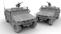 3d model american suv
