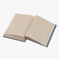 3d classic book 04 open