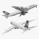 airbus a380-1000 3D models