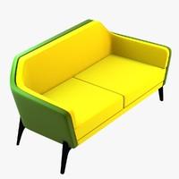 harc sofa chair 3d max
