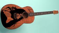 acoustic guitar obj