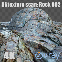 rn texture scan - rock 002