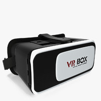 virtual reality goggles 3d model