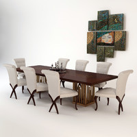 obj christopher guy dining table