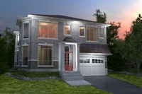 grey house 3d max