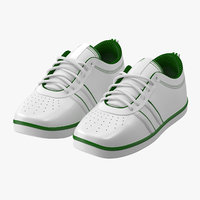 3d tennis shoes model