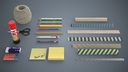 sticky note 3D models