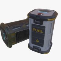 3d sci-fi barrel