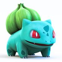 pokemon 3d obj