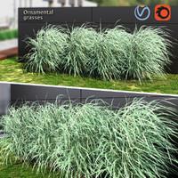 3d grass ornamental